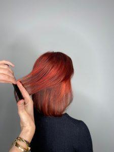 Haar rood kleuren - kapper Doetinchem