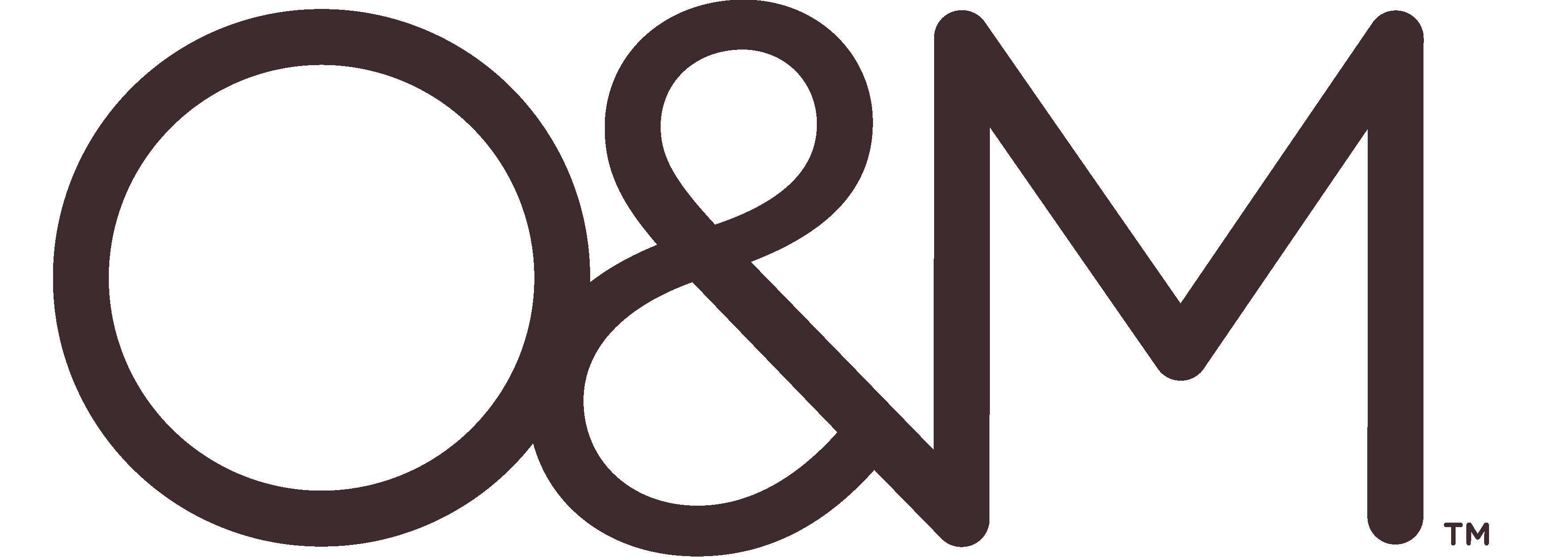 O&M Logo Brown